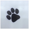 Black Paw Sticker