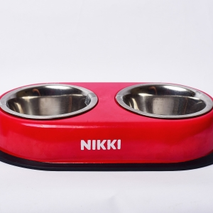 Personalized Dog Bowl Set