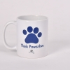 Blue – Think Pawsitive Mug