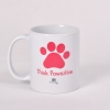 Pink – Think Pawsitive Mug