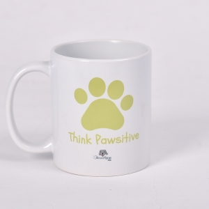 Lemon - Think Pawsitive Mug