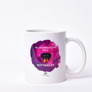 Rottweiler Illustration Mug