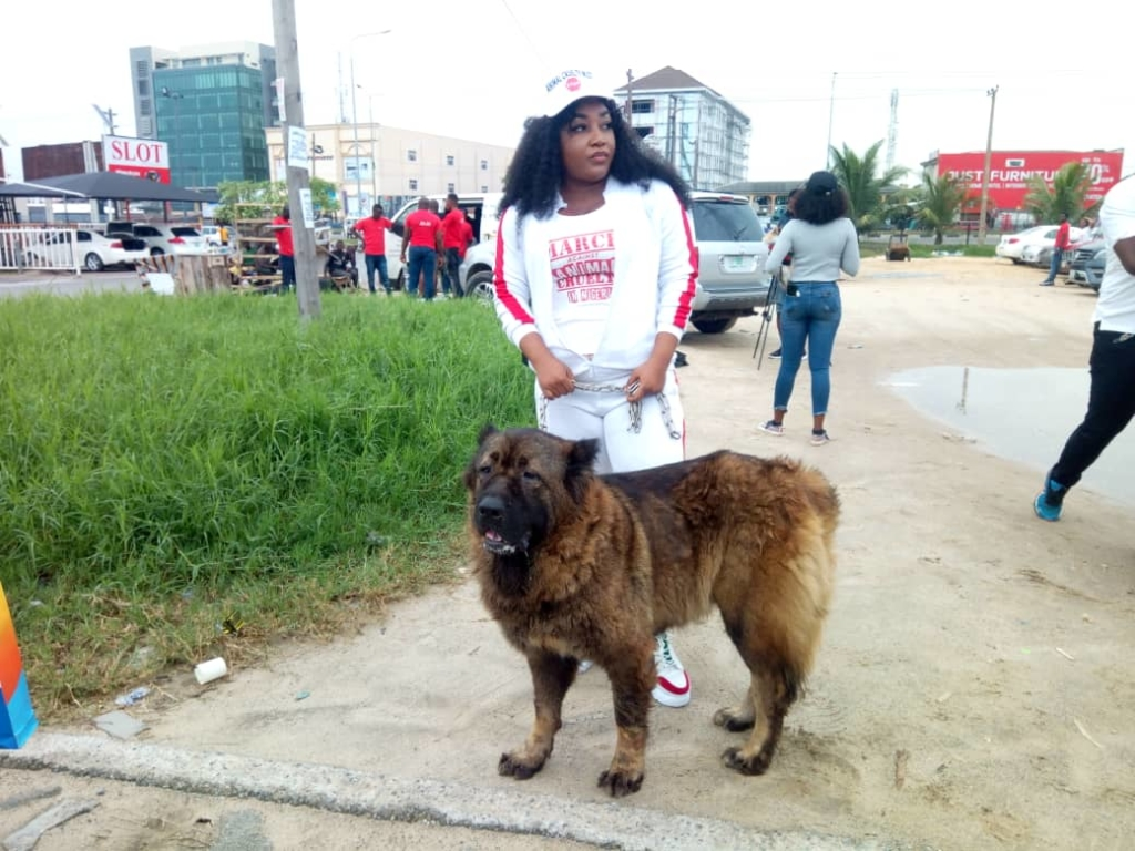 March Against Animal Cruelty in Nigeria